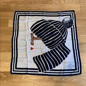 Lanvin vintage scarf